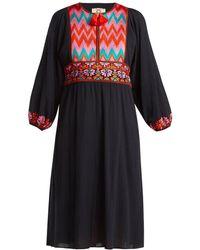 Figue - Violeta Embroidered Dress - Lyst