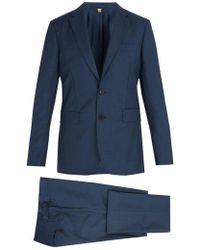 Burberry - Soho Wool And Mohair-blend Suit - Lyst