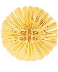 Balenciaga - Round Licence Single Earring - Lyst