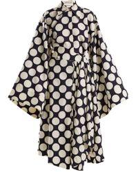 Awake   Polka-dot Print Pleated Skirt   Lyst