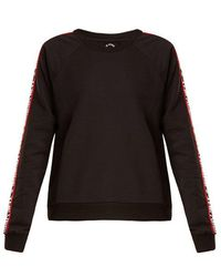The Upside - Star Bound Crew Neck Cotton Blend Sweatshirt - Lyst