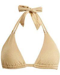 Biondi - Triangle Bikini Top - Lyst