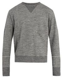 Maison Margiela - Crew-neck Cotton Sweatshirt - Lyst