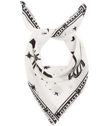 Rockins - Cosmic Dancer Print Bandana Silk Scarf - Lyst