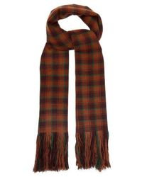 Isabel Marant - Carlyna Check Cashmere Scarf - Lyst
