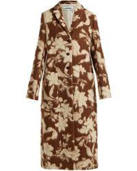 Jil Sander - Fullerton Floral Wool And Alpaca Blend Coat - Lyst