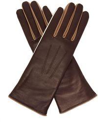 Isabel Marant - Tri Tone Leather Gloves - Lyst