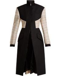 Alexander McQueen - Stand-collar Wool-blend Coat - Lyst