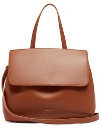 Mansur Gavriel - Lady Drawstring Leather Bag - Lyst