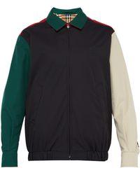 Burberry - Reversible Vintage Check Harrington Jacket - Lyst