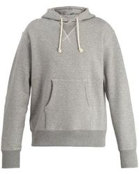 Junya Watanabe - Cotton-jersey Hooded Sweater - Lyst