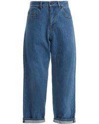 Craig Green | Cut-out Boyfriend Jeans | Lyst