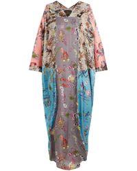 Vivienne Westwood Anglomania - Robe drapée à imprimé abstrait Musa - Lyst