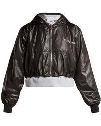 Natasha Zinko - Double-layered Hooded Jacket - Lyst