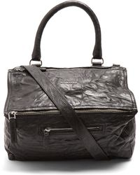Givenchy - Pandora Medium Creased Leather Bag - Lyst 45458d8753d9f