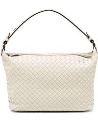 Bottega Veneta - Ciambrino Intrecciato Leather Shoulder Bag - Lyst 46489e05dd97f