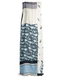 Acne Studios - Dulcia Paisley-print Boat-neck Dress - Lyst