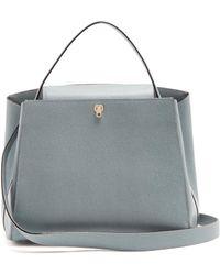 Valextra   Brera Leather Bag   Lyst