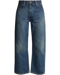 Chimala | High-rise Relaxed-leg Distressed Jeans | Lyst