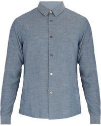 A.P.C. - Franklin Cotton Shirt - Lyst