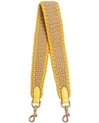 Anya Hindmarch - Blanket-stitched Crochet Bag Strap - Lyst