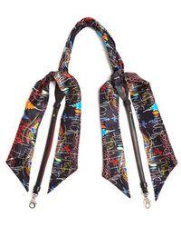 Christian Louboutin - Artemistrap Loubitag-scarf Leather Bag Strap - Lyst