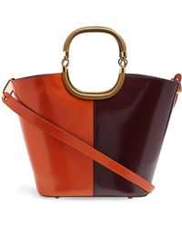 Marni - Maili Tri-colour Leather Bucket Bag - Lyst