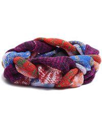 Gucci - Braided-knit Wool-blend Headband - Lyst