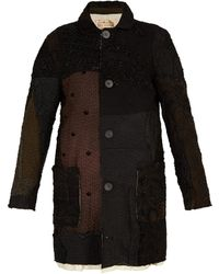 By Walid - Malcolm Patchwork Silk Coat - Lyst