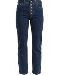 JOSEPH - Den Straight-leg Cropped Jeans - Lyst