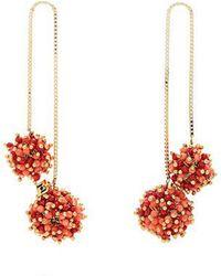 Rosantica By Michela Panero - Suono Double-drop Earrings - Lyst