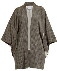 Racil - Sayuri Wave-jacquard Kimono Jacket - Lyst