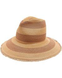 Filù Hats | Riga Striped Hemp-straw Hat | Lyst