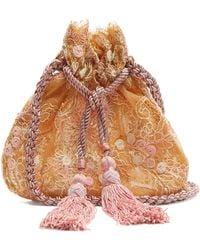 Rebecca de Ravenel - Neptune Drawstring Pouch Shoulder Bag - Lyst