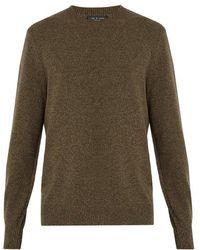 Rag & Bone - Haldon Crew-neck Cashmere Sweater - Lyst