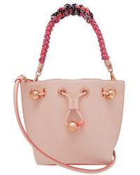 Sophia Webster - Romy Mini Leather Bucket Bag - Lyst