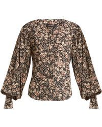 Isabel Marant | Berny Floral-print Blouse | Lyst