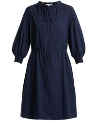 See By Chloé - Broderie-anglaise Cotton Dress - Lyst