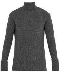 Wooyoungmi - Roll-neck Wool-blend Sweater - Lyst