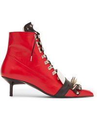 Marques'Almeida - Fitted Spiked Boot - Lyst