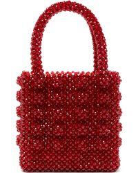 Shrimps - Antonia Ruby Crystal Embellished Bag - Lyst