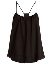 Loup Charmant - Scoop Cotton-lawn Cami Top - Lyst