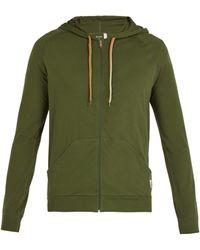 Paul Smith - Cotton Zip Up Hooded Sweatshirt - Lyst