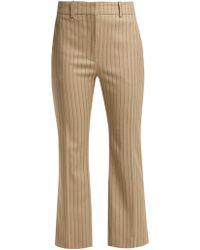 Altuzarra - Adler Wool-blend Kick-flare Trousers - Lyst