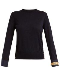 Thom Browne - Round-neck Wool Sweater - Lyst
