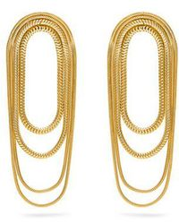 Fernando Jorge - Yellow-gold Parallel Earrings - Lyst