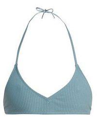 Made By Dawn - Shell Ribbed Bikini Top - Lyst