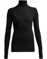 Haider Ackermann - Laurus Roll-neck Wool Sweater - Lyst