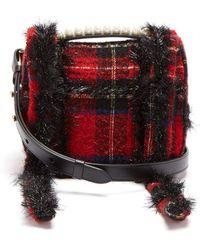 Simone Rocha - Embellished Tartan Cross-body Bag - Lyst