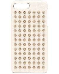 Christian Louboutin - Loubiphone Leather Iphone® 7 & 8 Plus Case - Lyst